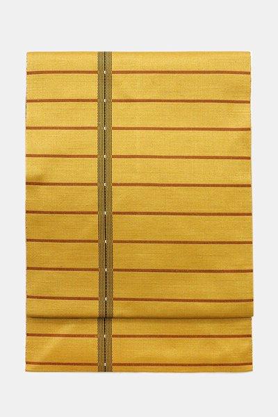 銀座【帯3630】本場黄八丈 八寸名古屋帯