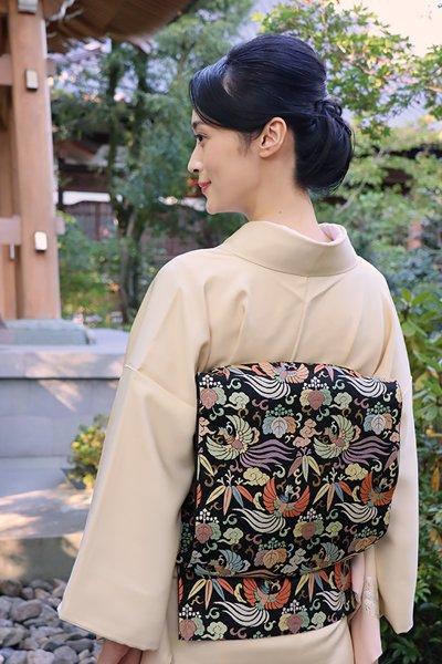 銀座【帯3658】西陣 川島織物製 本袋帯