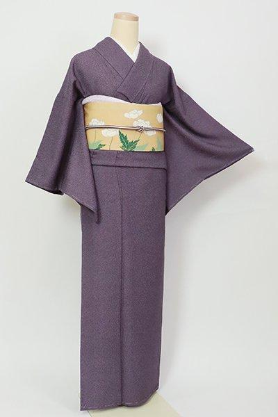 あおき【C-2014】(S)江戸小紋 滅紫色 鮫(落款入)