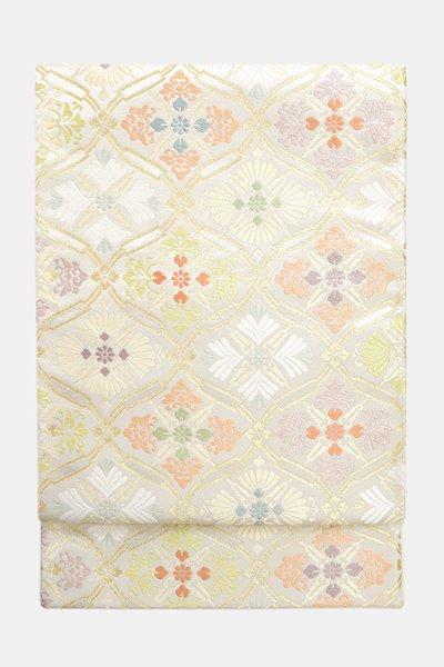 銀座【帯3679】西陣 藤原製 袋帯 (反端証紙付)