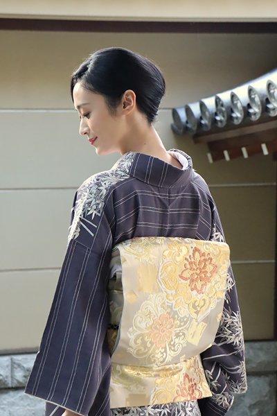 銀座【帯3681】西陣 川島織物製 本袋帯