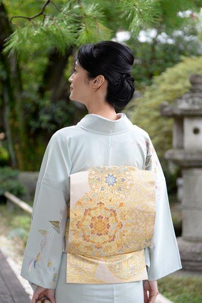 銀座【帯3686】西陣 川島織物製 本袋帯