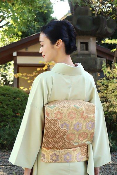 銀座【帯3696】西陣 川島織物製 本袋帯