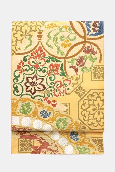 銀座【帯3704】西陣 川島織物製 本袋帯