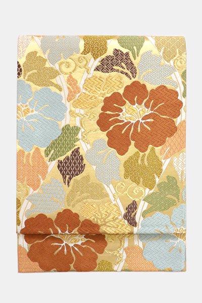 銀座【帯3719】西陣 河合美術織物製 袋帯