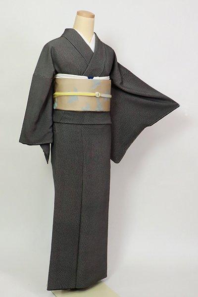 銀座【C-2039】江戸小紋 黒色 万筋