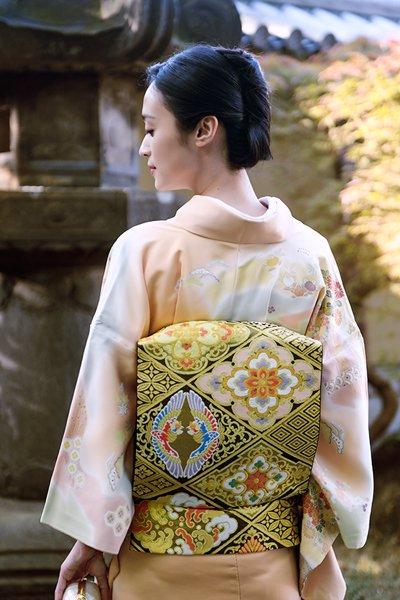 銀座【帯3750】西陣 川島織物製 本袋帯