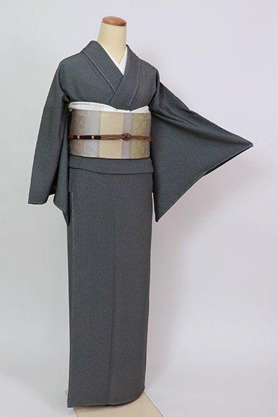 あおき【C-2060】江戸小紋 羊羹色 行儀(反端付)(N)