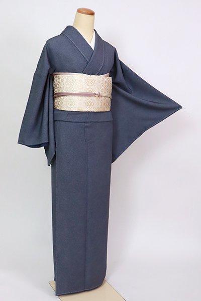 銀座【C-2061】江戸小紋 濃藍色 鮫(反端付)(N)