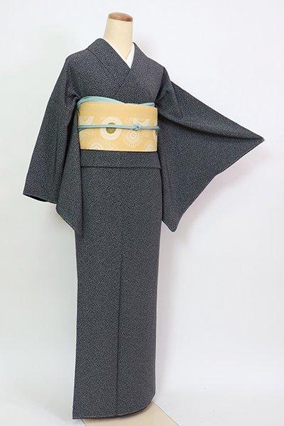 あおき【C-2079】江戸小紋 黒色 束ね熨斗文