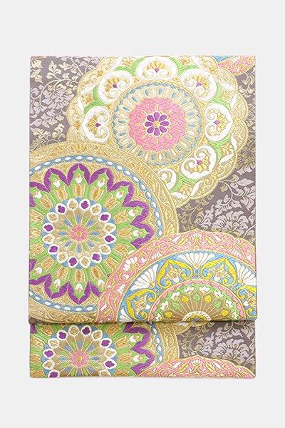 銀座【帯3832】西陣 河合美術織物製 袋帯