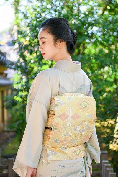 銀座【帯3852】西陣 川島織物製 本袋帯