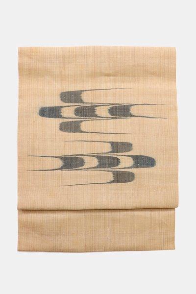 あおき【帯3883】国指定重要無形文化財 喜如嘉の芭蕉布 二部式付け帯
