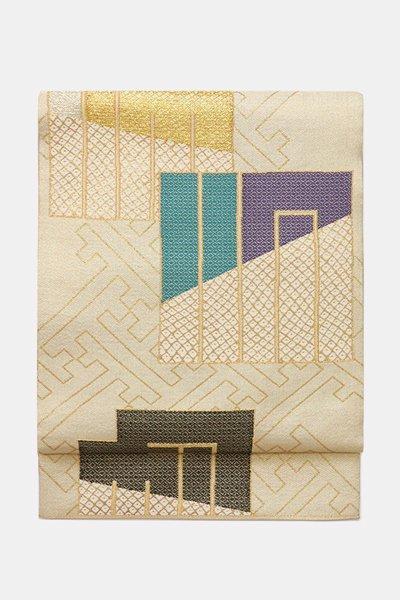 銀座【帯3963】洛風林製 袋帯