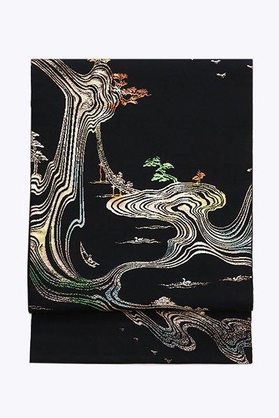 銀座【帯3975】龍村平蔵製 本袋帯「羽化登仙錦」(高島屋扱い 畳紙付)