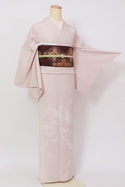 銀座【B-2969】単衣 付下げ 灰桜色 装飾華文