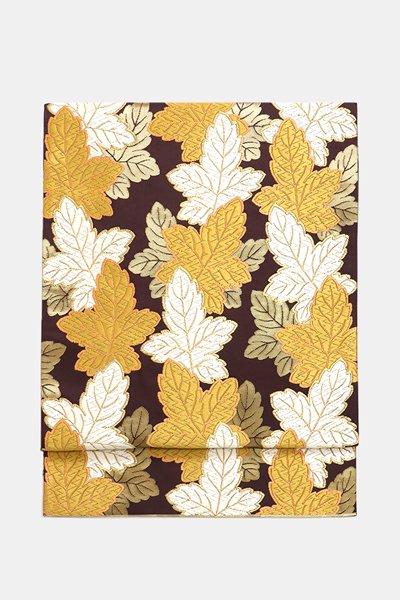銀座【帯3991】西陣 河合美術織物製 袋帯