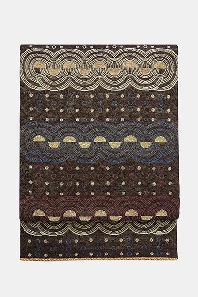 銀座【帯4001】西陣 誉田屋源兵衛製 楼蘭織 袋帯
