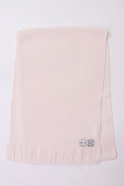 【R-210】正絹 絽縮緬無地帯揚げ 桜鼠