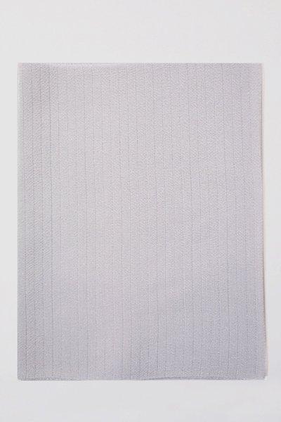【R-217】正絹 絽縮緬無地帯揚げ 月白色