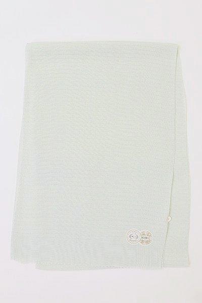 【R-218】正絹 絽縮緬無地帯揚げ 瓶覗色