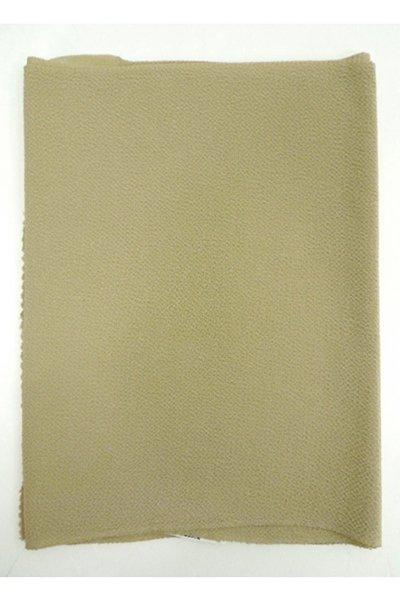 【R-85】正絹 縮緬無地帯揚げ 木蘭色