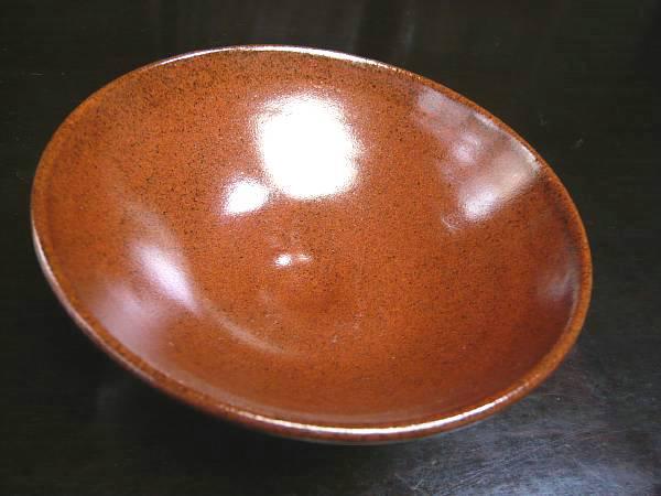 鉄赤平茶碗