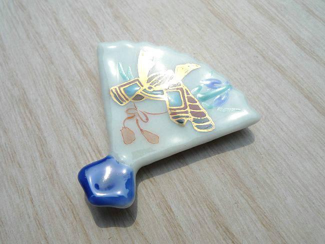 箸置き 端午 青単品