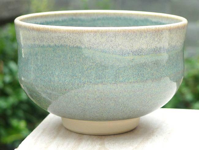 ねずみ縁抹茶碗 林山