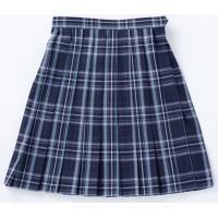レディーススカート(ブラック/グリーンチェック) No.5331