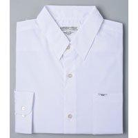 メンズスクールシャツ(オフホワイト)No.6152