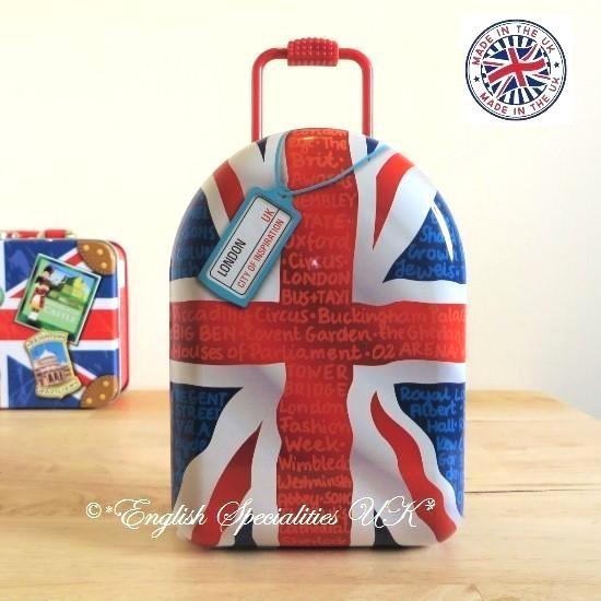 ★Sale!【Churchill's】Union Jack  Wheelie /Jelly Beansチャーチルズ ユニオンジャック ウィーリー缶 ジェリービー…