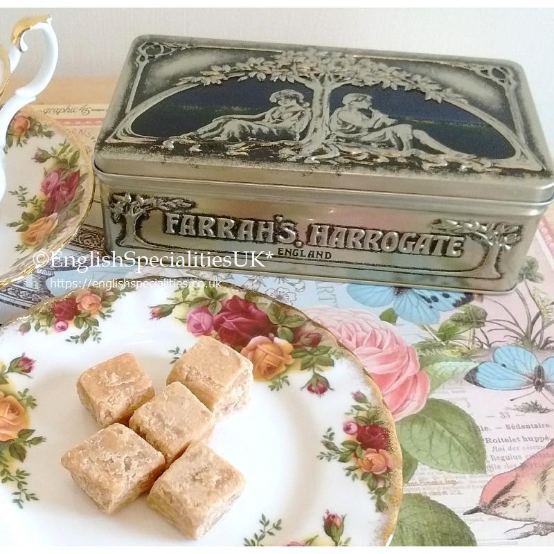 【Farrah's】Luxury Fudge Art Nouveau Tinファラーズ ラグジャリーファッジ アールヌーヴォー缶