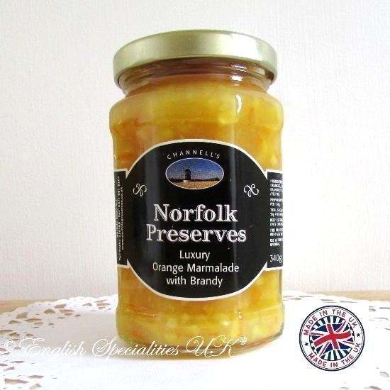 【Norfolk Preserves】Luxury Marmalade with Brandyノーフォーク・プリザーブス  ラグジャリー ブランデーマーマレー…