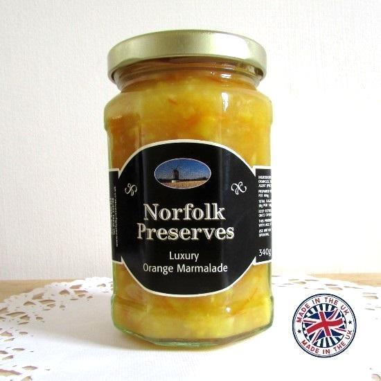 【Norfolk Preserves】Luxury Marmaladeノーフォーク・プリザーブス  ラグジャリー マーマレード