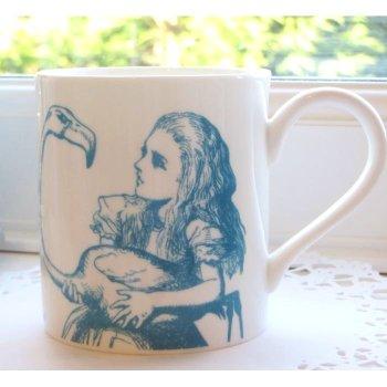 【Whittard】ALICE IN WONDERLAND Alice Mug BLUE<br>ウィタード 不思議の国のアリス アリスマグ ブルー