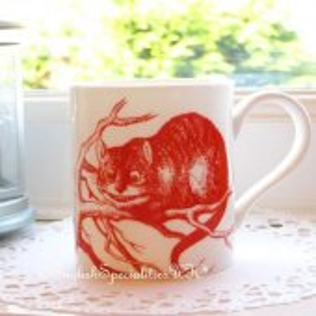 【Whittard】ALICE IN WONDERLAND Cheshire Cat Mug <br>ウィタード 不思議の国のアリス チャシェ猫マグ