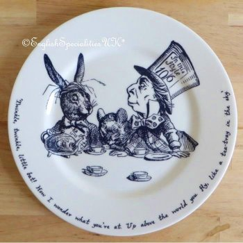 【Whittard】ALICE IN WONDERLAND Tea Plate<br>ウィタード 不思議の国のアリス ティープレート