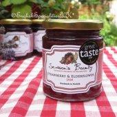 【Season's Bounty】Strawberry and Elderflower Jam<br>シーズンズ・バウンティ ストロベリー &エルダーフラワージャム