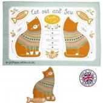 【Ulster Weavers】Charlie Cat  Cotton Tea Towel<br>アルスターウィーバー キャット コットン ティータオル