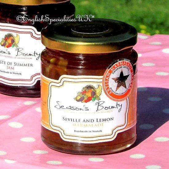 【Season's Bounty】Sevile & Lemon Marmaladeシーズンズ・バウンティ セヴィル&レモン マーマレード