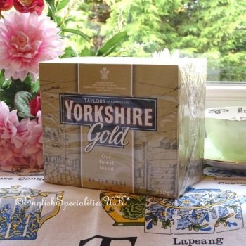 【Yorkshire Tea】 Gold 80 Teabags<br>ゴールド ヨークシャー紅茶 80ティーバッグ
