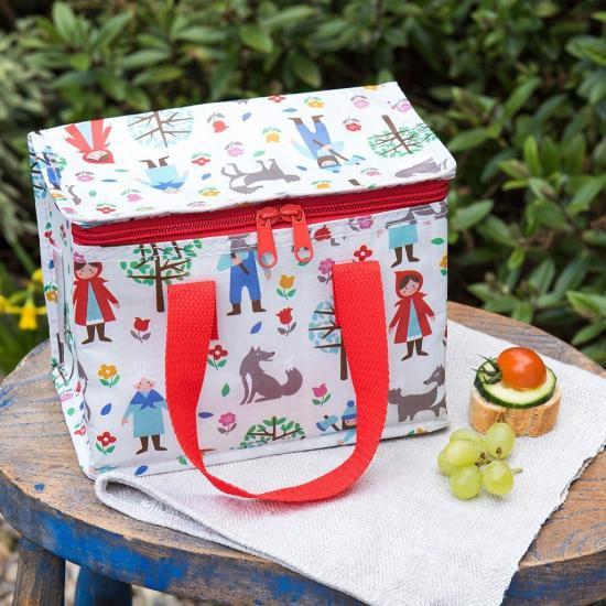 【dotcomgiftshop】 Red Riding Hood Lunch Bagドットコムギフトショップ 赤ずきんちゃん 保冷ランチバッグ -