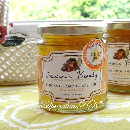 【Season's Bounty】Bergamot and Grapefruits  Marmaladeシーズンズ・バウンティ ベルガモット&グレープフルーツ マーマレード