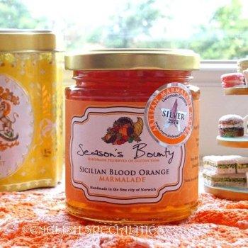 【Season's Bounty】Sicilian Blood Orange  Marmalade<br>シーズンズ・バウンティ シチリア ブラッドオレンジ マーマレード