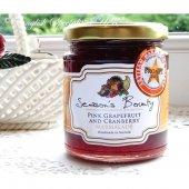 【Season's Bounty】Pink Grapefruit & Cranberry Marmalade<br>シーズンズ・バウンティ ピンクグレープフルーツ&クランベリーマーマレード
