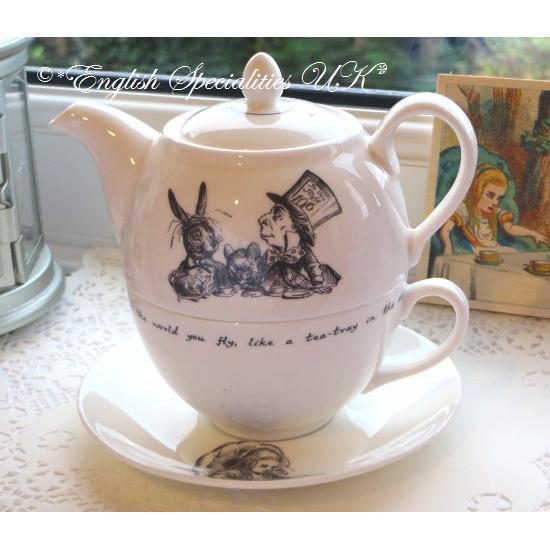 【Whittard】ALICE IN WONDERLAND Tea for Oneウィタード 不思議の国のアリス ティーフォーワン(一人用ティーセット)