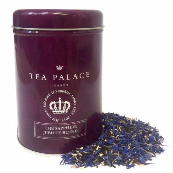 【TEA PALACE】 The Sapphire Jubilee Blend Loose Tea Caddyティーパレス サファイヤジュビリー リーフティー125g缶