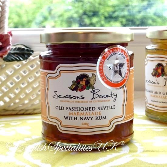 【Season's Bounty】Old Fashoned Sevile Marmalade with Navy Rumオールド ファッション セヴィル マーマレードネイビーラムマーマレ…