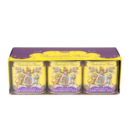 【The Royal Collection】Buckingham Palace Loose Leaf Tea Collectionバッキンガム宮殿  ルーズリーフティーコレクション ミニ缶